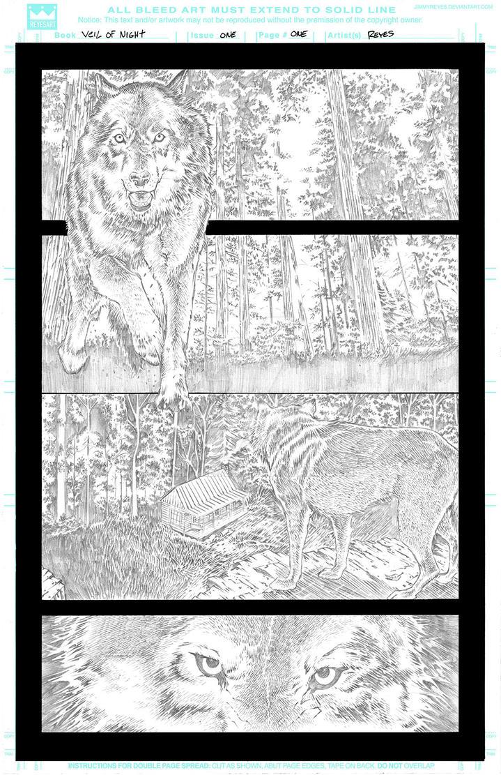 Veil Of Night #1 Page 1 by JimmyReyes