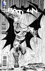 Batman Ardian syaf Jimmy reyes Mock cover