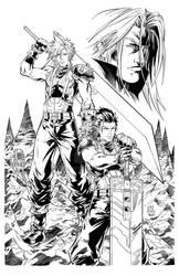 Final Fantasy VII Ink Commission