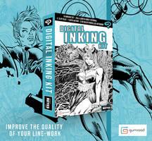 Digital Comic Book Inking Kit