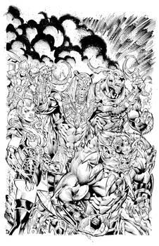 Dragon Guard #1 Villains Cover