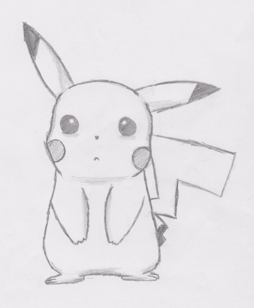 Pikachu (sad) by J0NNYSH3P on DeviantArt