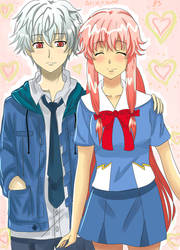 Akise x Yuno just cause