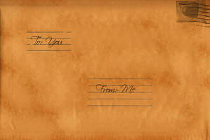 Old Envelope Texture by WingsOfAHero
