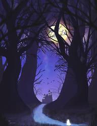 Spooky Ghost Castle KloirDTIYS