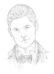 Dean Winchester/Jensen Ackles by Schiaparellii