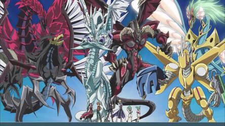 Yu-gi-oh 5Ds Signer Dragons