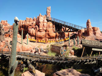 Big thunder mountain by MightyMorphinPower4