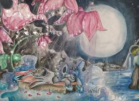 Lunar dream by Lunar-White-Wolf