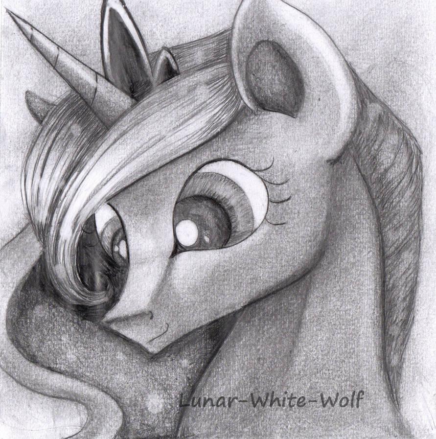 Princess Luna by Lunar-White-Wolf