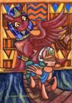 Somnambula and the Sphinx