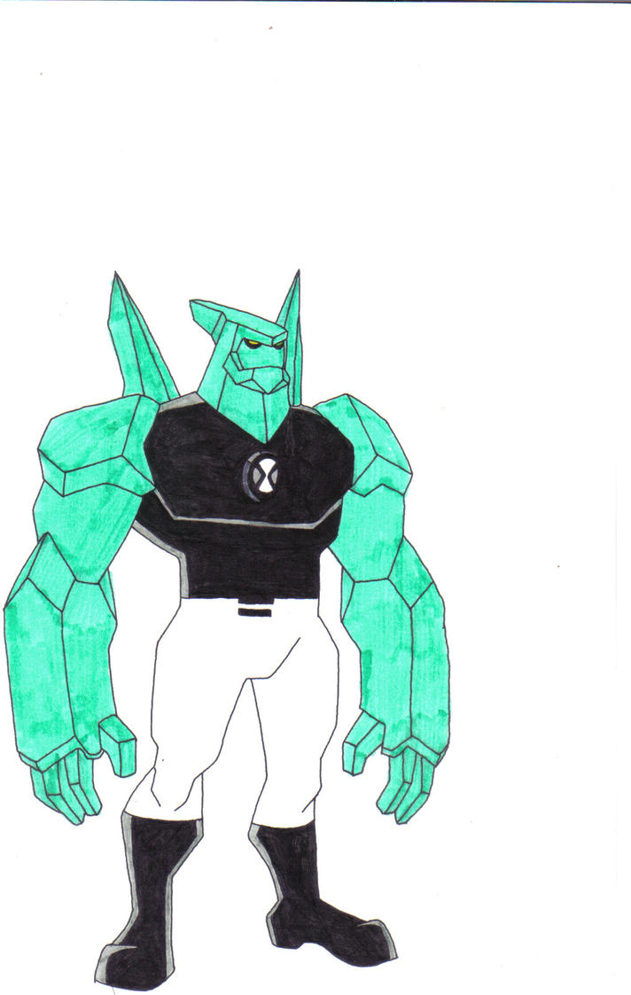 Ben10 diamondhead part 2 by drater7890 on deviantart