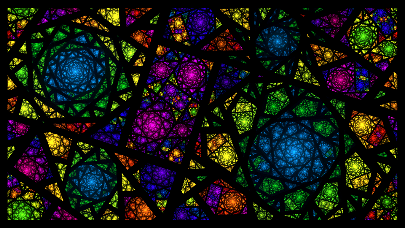 beautiful stained glass wallpaper - photo #4