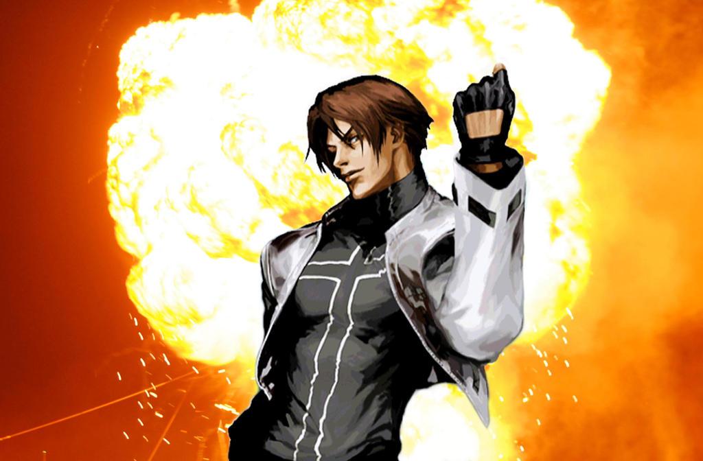 Cool guys don't look at explosions - Kyo Kusanagi by ...