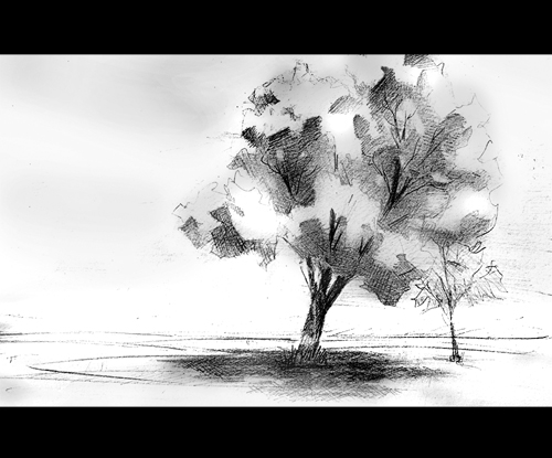 Lonely Tree by keepwalking07 on deviantART