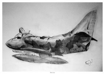 War Airplane by FacundoDiaz