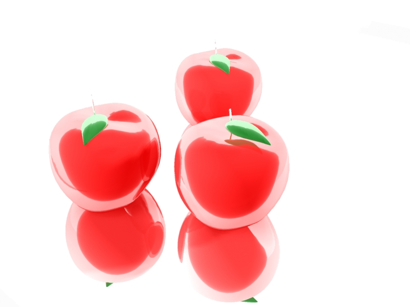 Glass Apples by FacundoDiaz