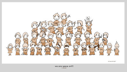 We Are Space Art by FacundoDiaz