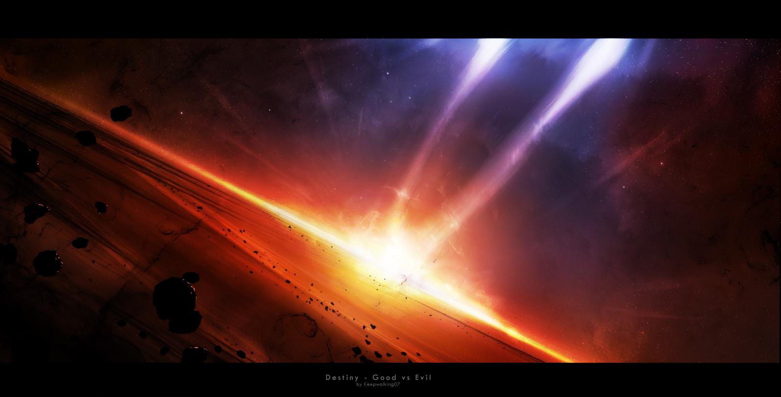 Destiny - Good vs Evil by FacundoDiaz