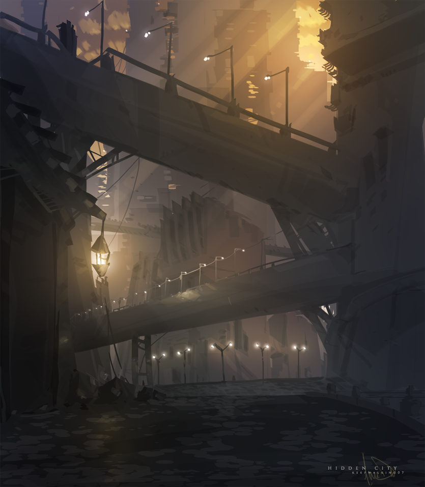 Hidden City by FacundoDiaz