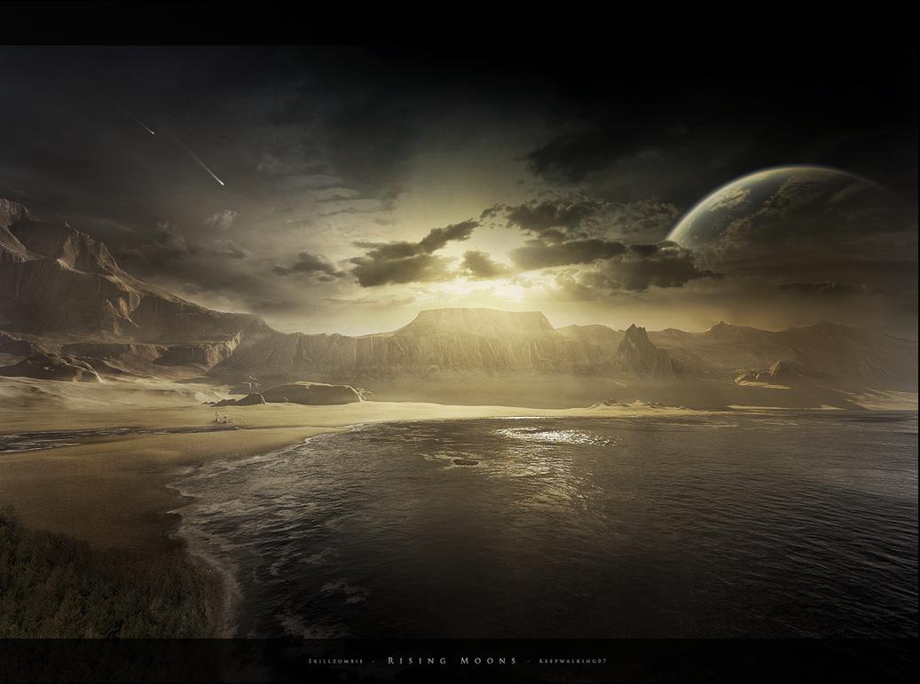 Rising Moons by FacundoDiaz