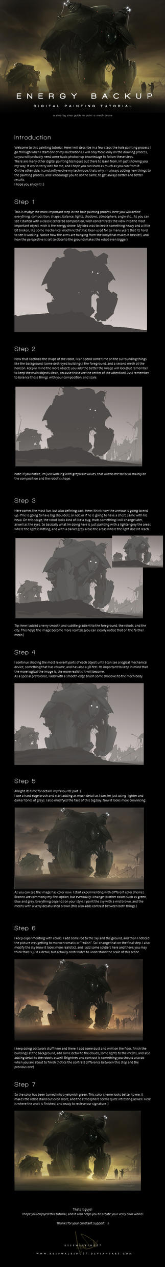 Sci Fi Painting Tutorial by FacundoDiaz