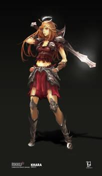 RIKKU - Sacred Knight Class - Khara