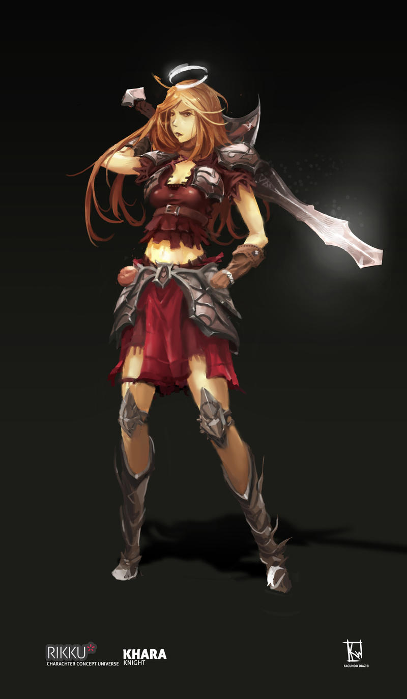 RIKKU - Sacred Knight Class - Khara by FacundoDiaz
