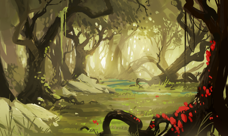 Random concept 1 (colored version) by FacundoDiaz