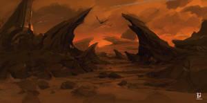 Diablo 3 rocks by FacundoDiaz