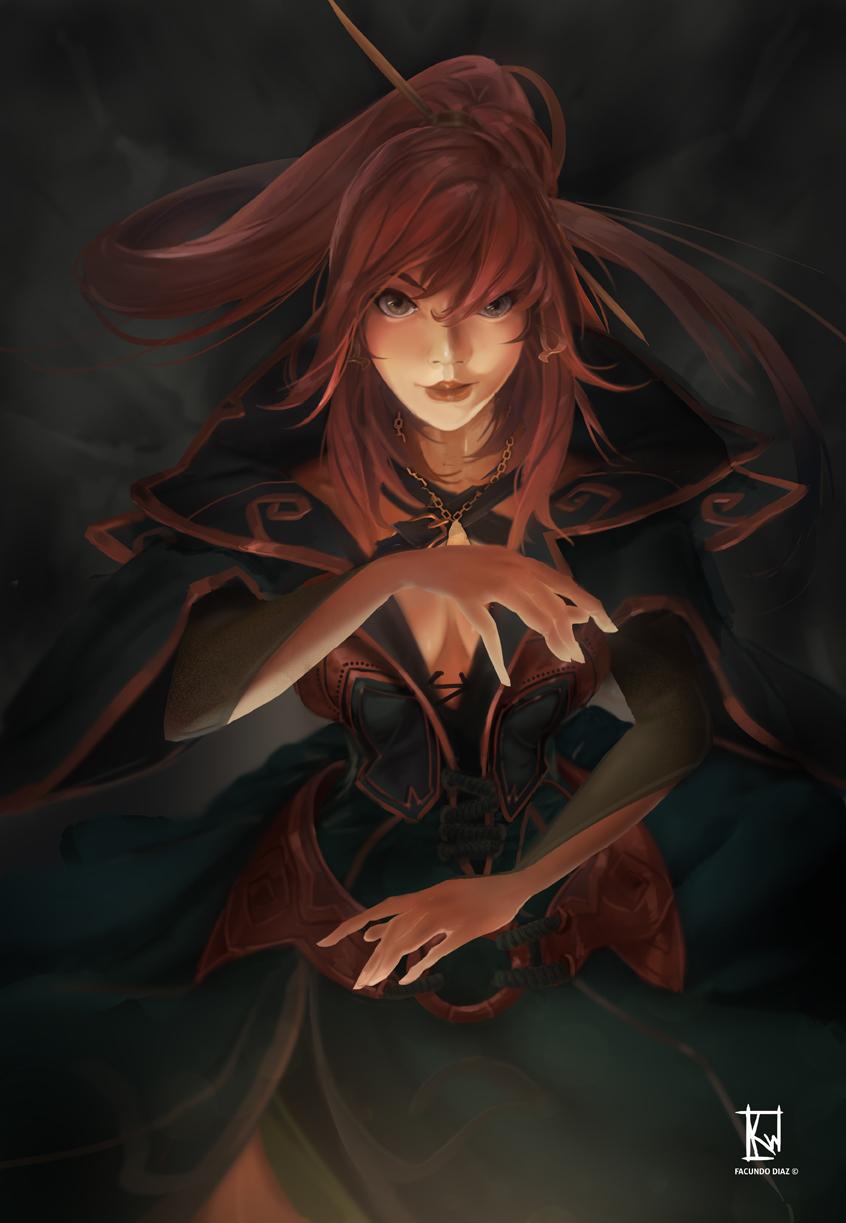 Forest sorceress