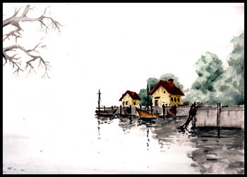 Dreamed lake by FacundoDiaz