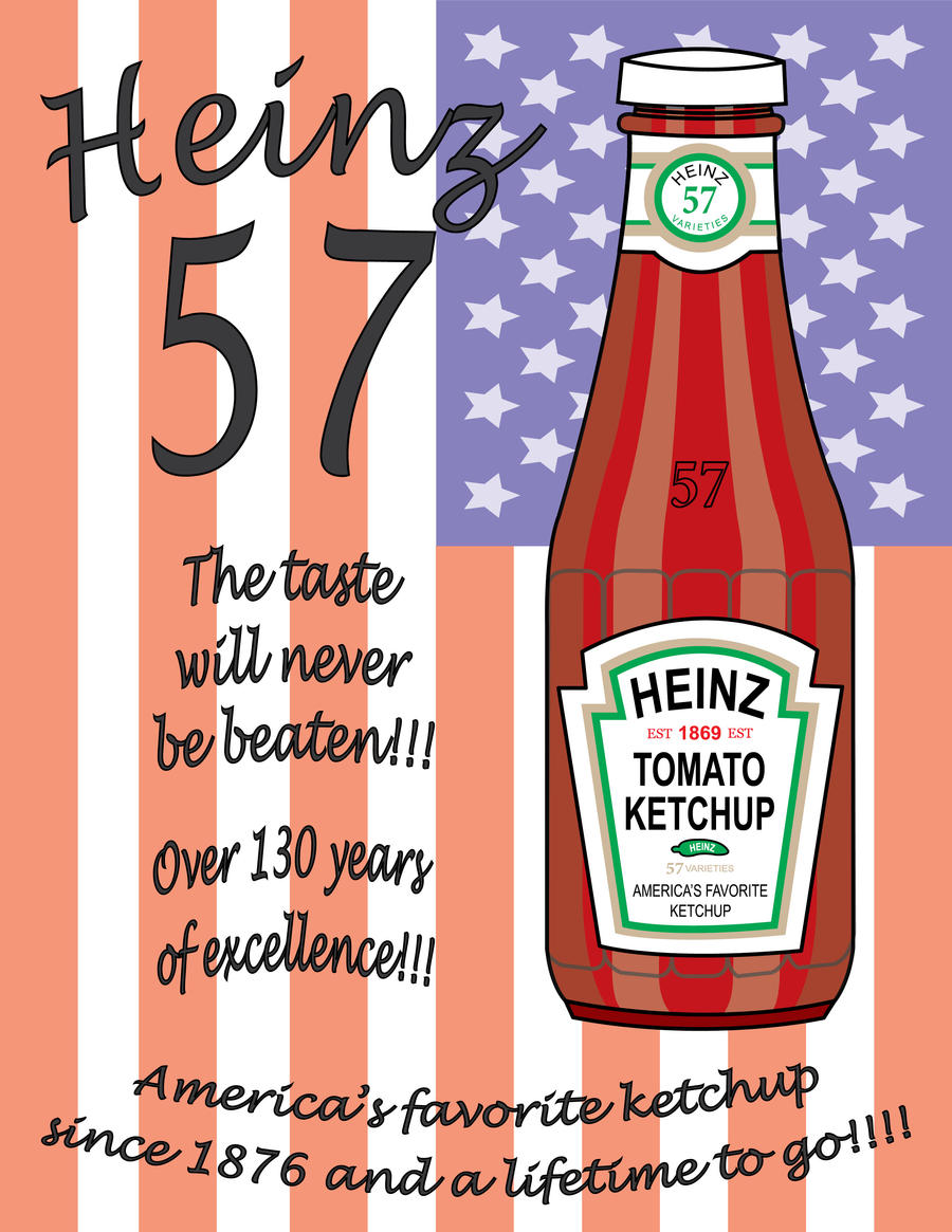 Heinz ketchup ads