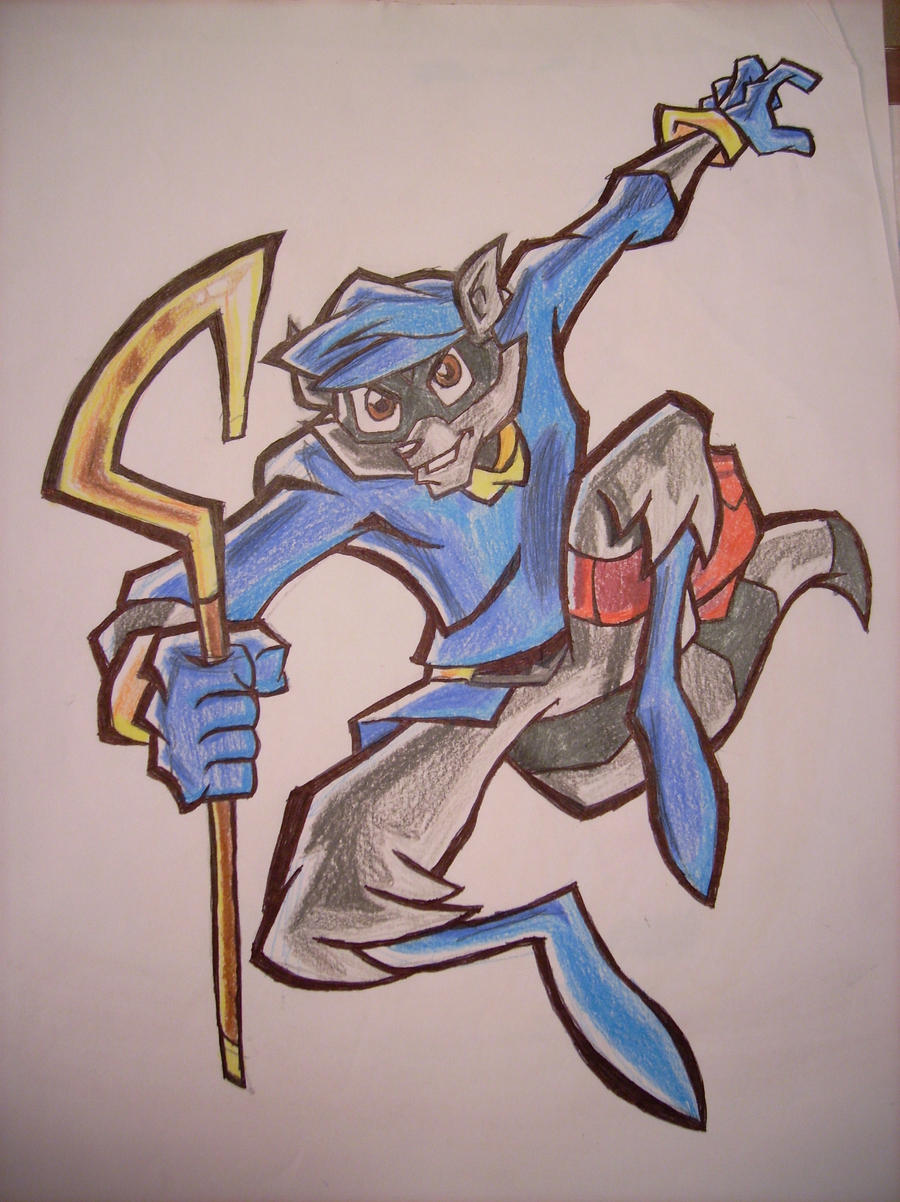 Sly Cooper by ALS123
