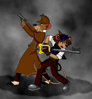 The Great Mouse Detective and Keyblade Master by ALS123