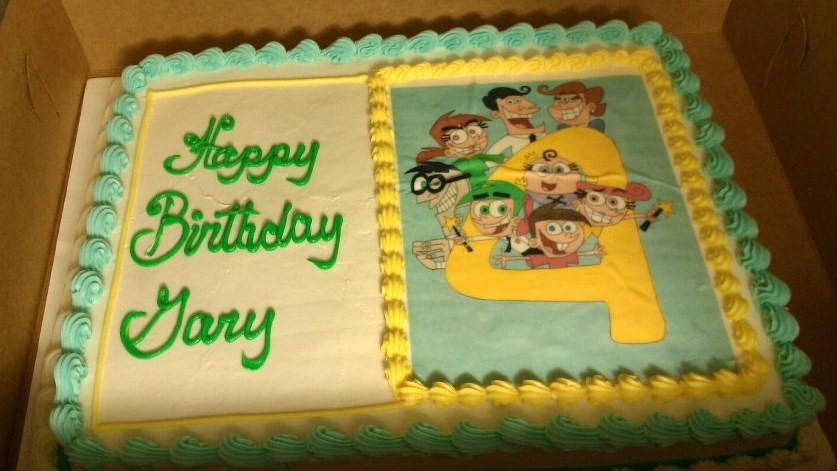 Fairly Odd Parents B Day Cake By Als123 On Deviantart