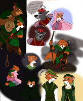 Robin Hood Sketches by ALS123