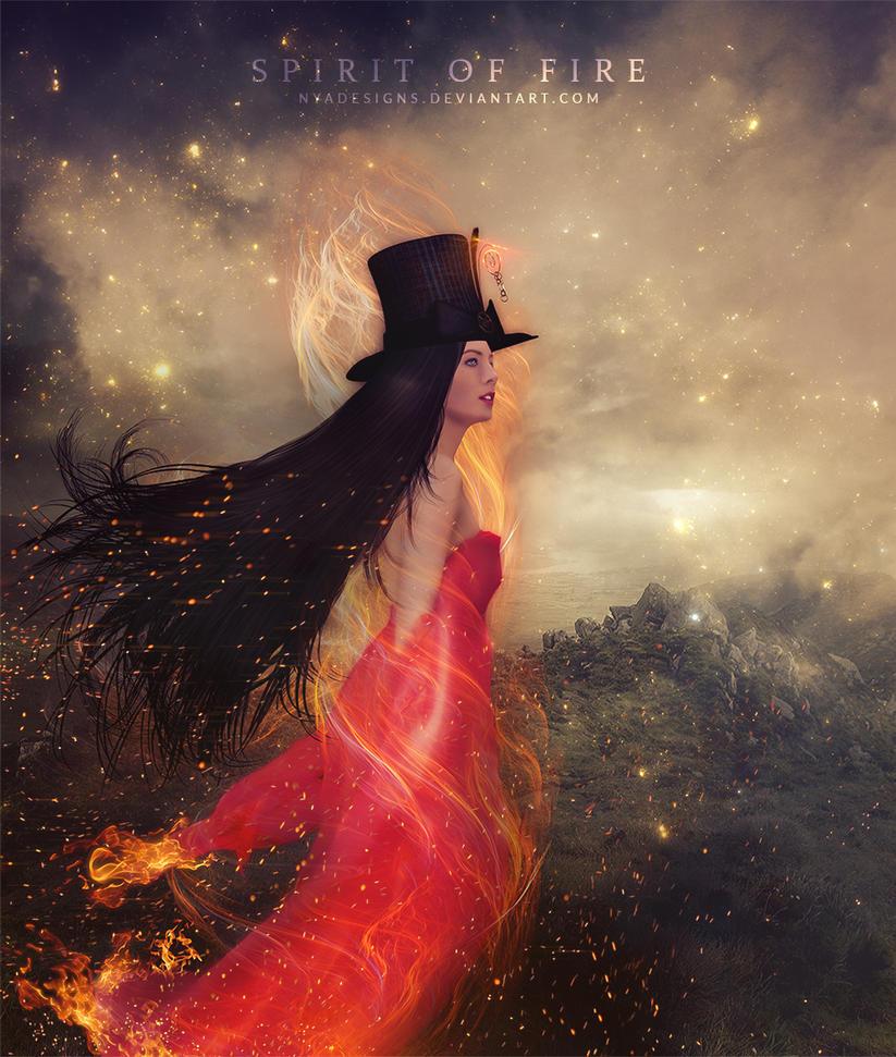Spirit Of Fire by NyaDesigns