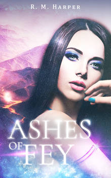 Ashes Of Fey - Book Cover Design