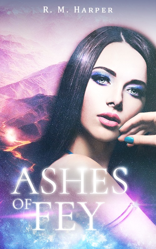 Ashes Of Fey - Book Cover Design by NyaDesigns