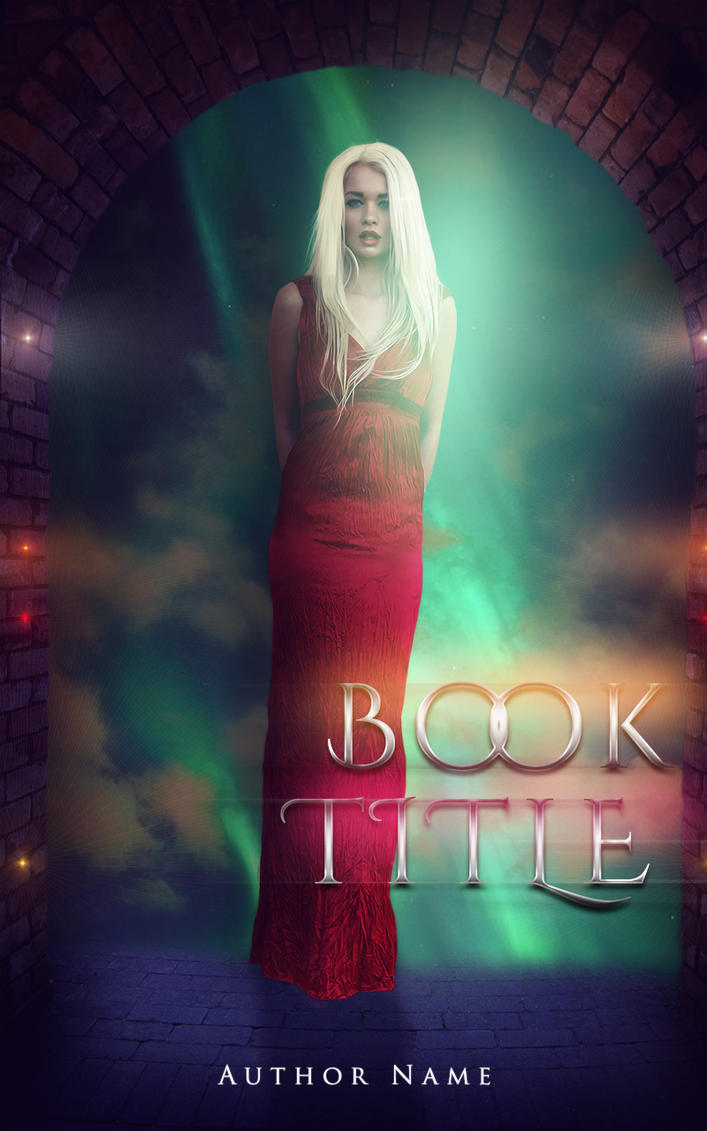 Book cover challenge - Georgia red dress by NyaDesigns