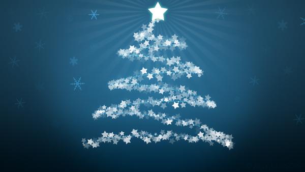 abstract christmas tree png