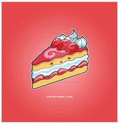 Kawaii Ichigo Kehki Slice 35k