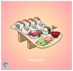 Kawaii Sushi C Roll Nigiri 37k