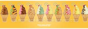 Kawaii Ice Cream Series prt 3