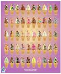 Kawaii Ice Creams prt 6-10