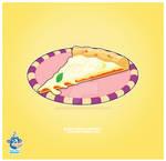 Kawaii Cheese Pizza Slice
