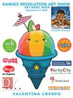 Kawaii Revolution UPP Flyer by KawaiiUniverseStudio