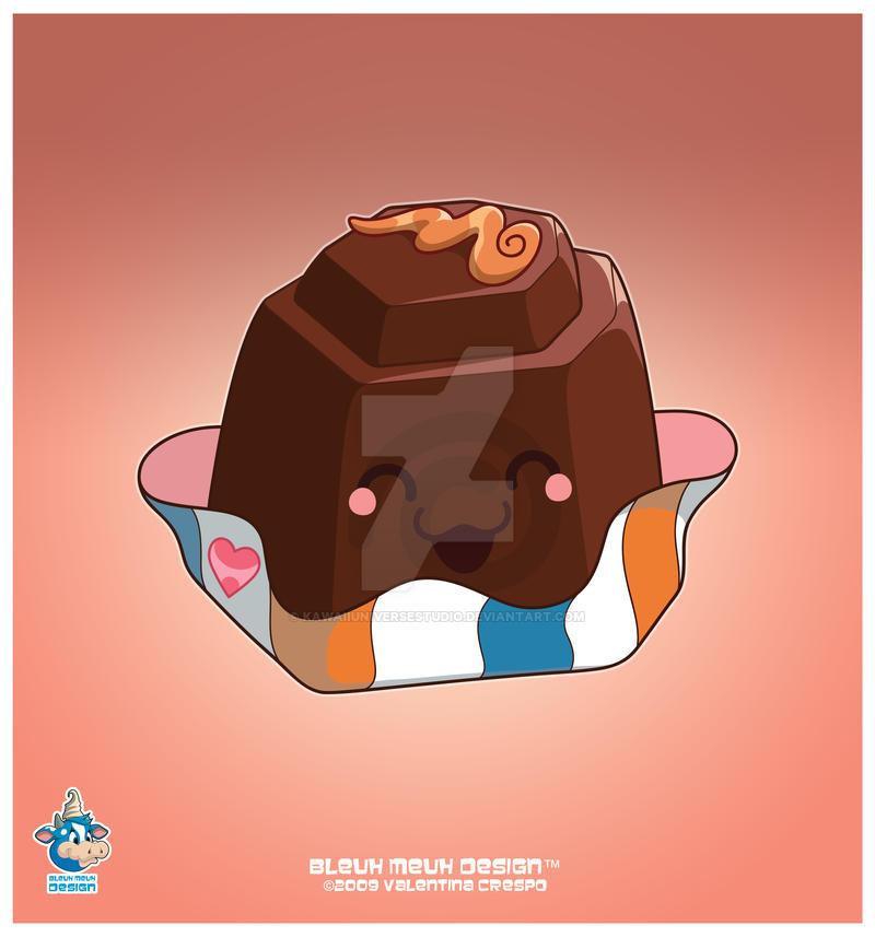 Kawaii S Sweet D Choco Bonbon by KawaiiUniverseStudio