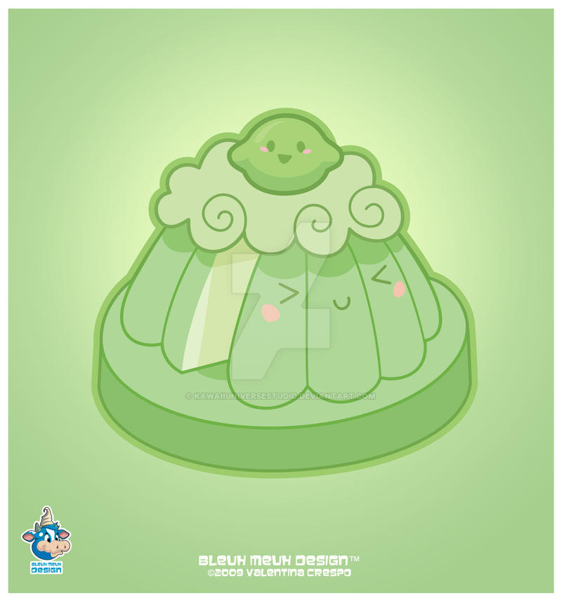 Kawaii Lime Sponge Cake by KawaiiUniverseStudio